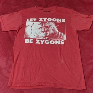 Doctor Who Zygons T shirt